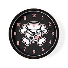 Dolly Heart RN Wall Clock