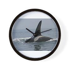 Big Orca Wall Clock
