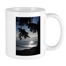 Trees Silhouette Small Mug