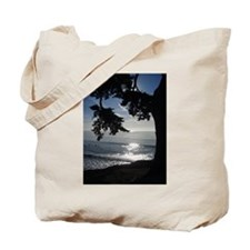 Trees Silhouette Tote Bag