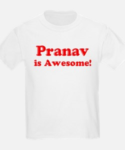 Pranav is Awesome Kids T-Shirt