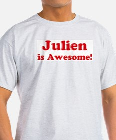 Julien is Awesome Ash Grey T-Shirt