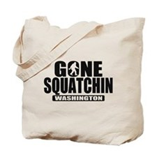 Gone Squatchin Washington *State Edition* Tote Bag