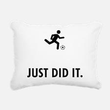 Soccer Rectangular Canvas Pillow