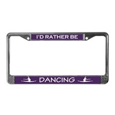 Cute Dancing License Plate Frame