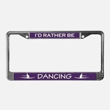 Unique Dancer License Plate Frame