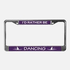 Unique Dancing License Plate Frame