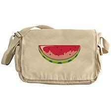 Watermelon Slice Messenger Bag