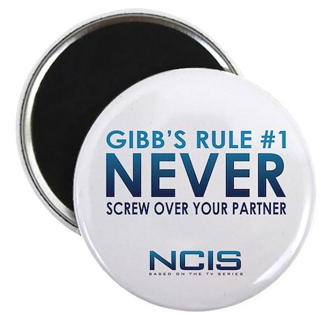 """Gibbs Rule #1 2.25"""" Magnet (10 pack)"""