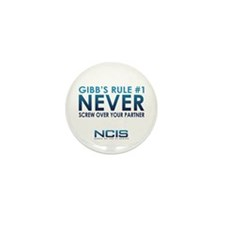 Gibbs Rule #1 Mini Button (10 pack)