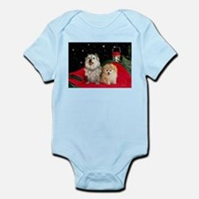Cairn Terrier & Pomeranian Infant Bodysuit