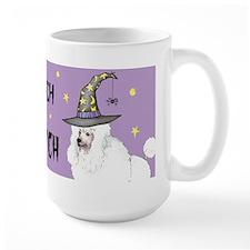 Poodle Witch Mug