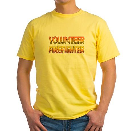 Firefighter Yellow T-Shirt