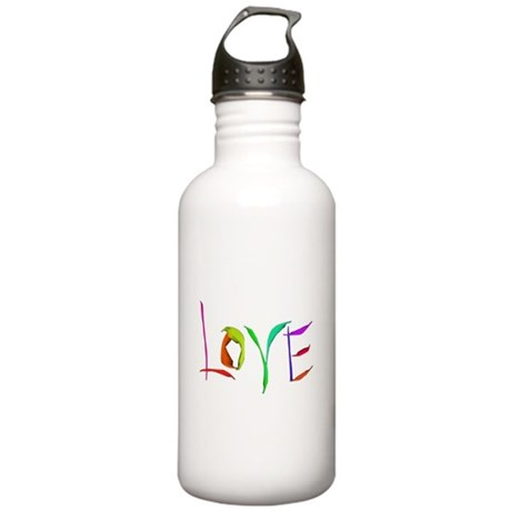 LOVE Valentine's Day Stainless Water Bottle 1.0L
