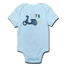 Italian Vespa Infant Bodysuit