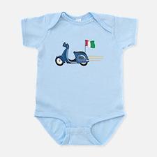Italian Vespa Infant Bodysuit