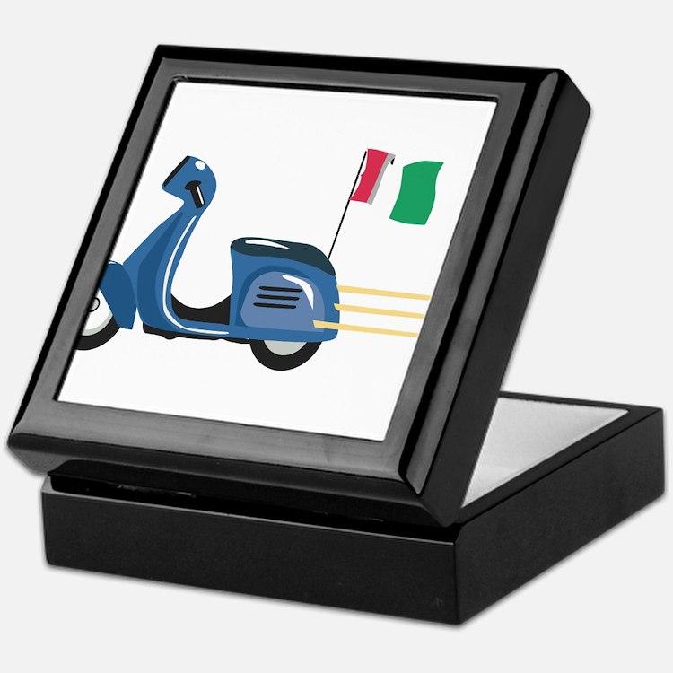 Italian Vespa Keepsake Box