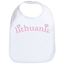 """Lithuania with Hearts"" Bib"