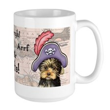 Yorkie Pirate Mug