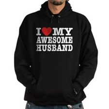 I Love My Awesome Husband Hoodie