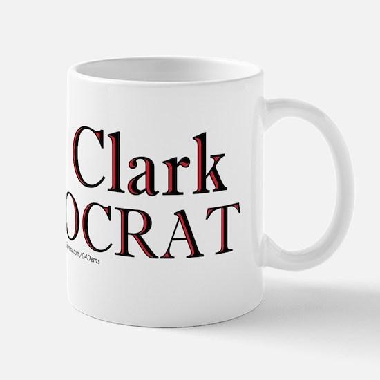 """""""Wes Clark Democrat"""" Mug"""