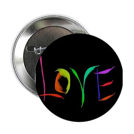 """LOVE Valentine's Day LOVE 2.25"""" Button"""