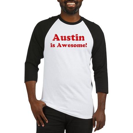 Austin is Awesome Baseball Jersey