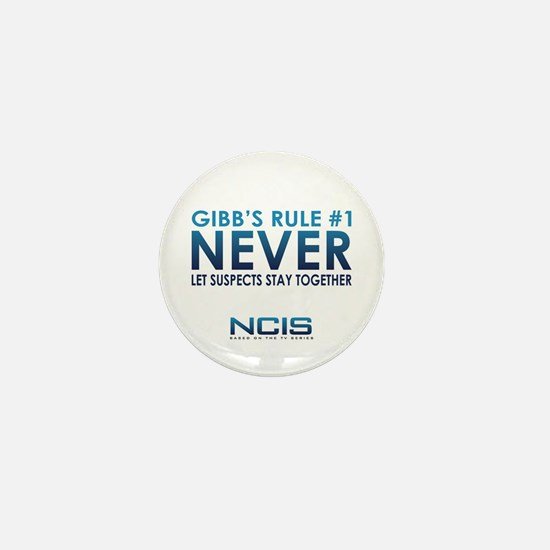 Gibbs Rule #1 Mini Button (10 pack)