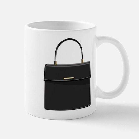 Black Purse Mug