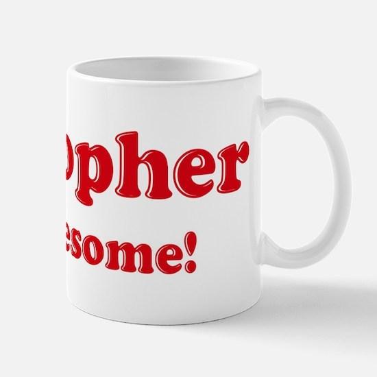 Cristopher is Awesome Mug