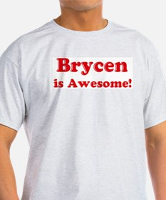 Brycen is Awesome Ash Grey T-Shirt