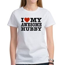 I Love My Awesome Hubby Tee