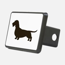 Wirehaired Dachshund Hitch Cover