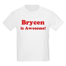 Brycen is Awesome Kids T-Shirt