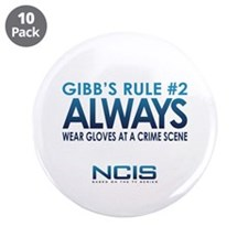"Gibbs Rule #2 3.5"" Button (10 pack)"
