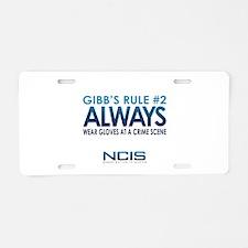 Gibbs Rule #2 Aluminum License Plate