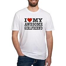 I Love My Awesome Girlfriend Shirt