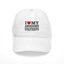 I Love My Awesome Girlfriend Baseball Cap
