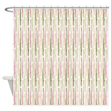 Watermelon Flutes Shower Curtain