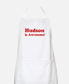Hudson is Awesome BBQ Apron