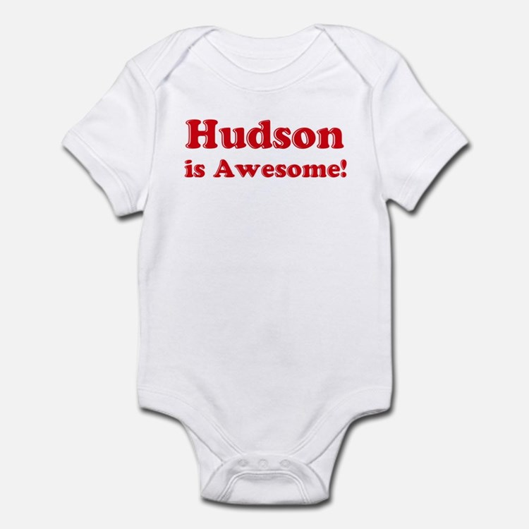Hudson is Awesome Infant Bodysuit