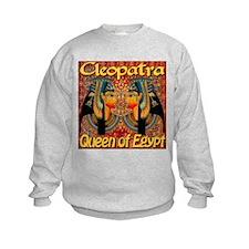 Cleopatra Queen Of Egypt Persian Carpet Sweatshirt