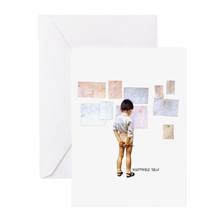 A Child Shall Lead Greeting Cards (Pk of 10)