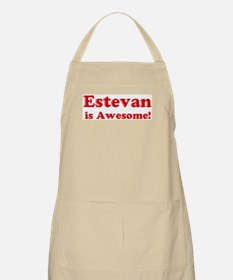 Estevan is Awesome BBQ Apron