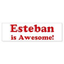 Esteban is Awesome Bumper Bumper Sticker