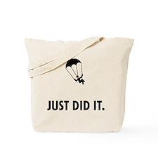 Parachuting Tote Bag