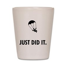 Parachuting Shot Glass