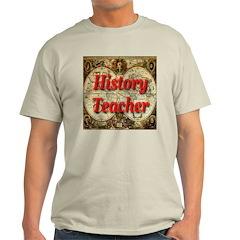 History Teacher Ash Grey T-Shirt