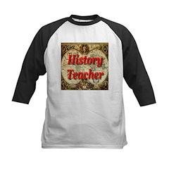 History Teacher Kids Baseball Jersey
