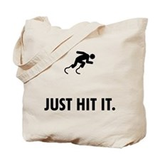Challenged Runner Tote Bag